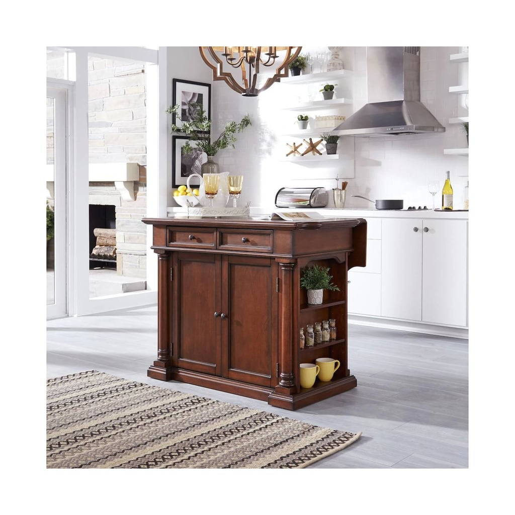 Beacon Hill Solid Wood Top Kitchen Island