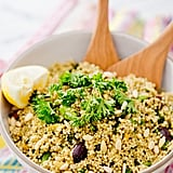 Millet and Broccolini Salad With Olives and Pine Nuts