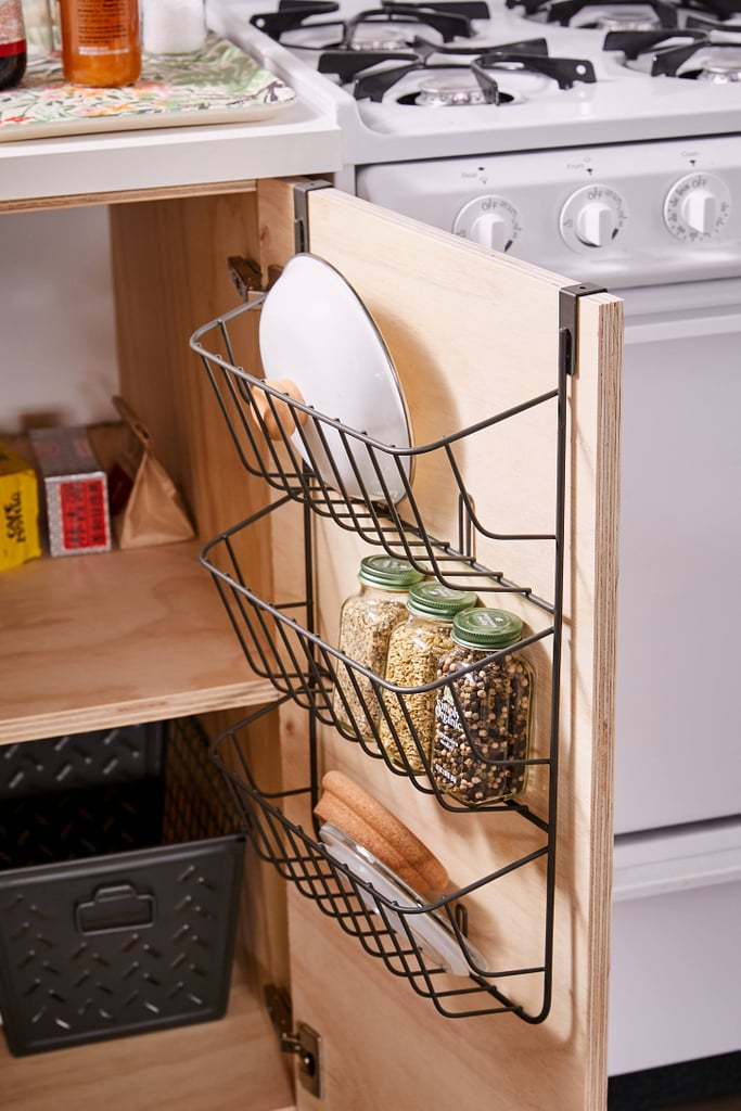 Over-The-Cabinet 3-Tier Lid Holder