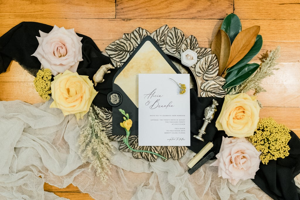 Harry Potter Hufflepuff-Themed Wedding