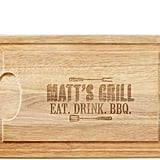 Personal Creations Personalized Grill-Masters Cutting Board