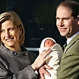 Prince Edward and Sophie, Countess of Wessex, With James, Viscount Severn