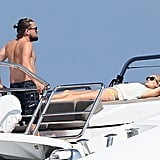 Sunning on a Yacht?