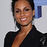 Alicia Keys at the premiere of Five in NYC.
