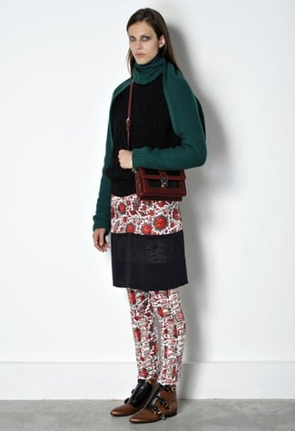 We first saw the tunic trend in Celine's Spring '11 collection, and now Nicolas has it layered for colder weather. Will you wear it over your skinny pants or is it too much layering?
