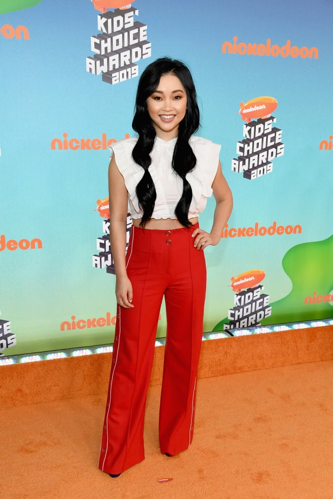 Lana Condor's Hair Grew by a Few Inches For the Kids' Choice Awards
