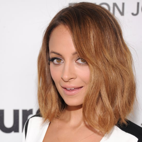 Nicole Richie Long Bob Hair 2013