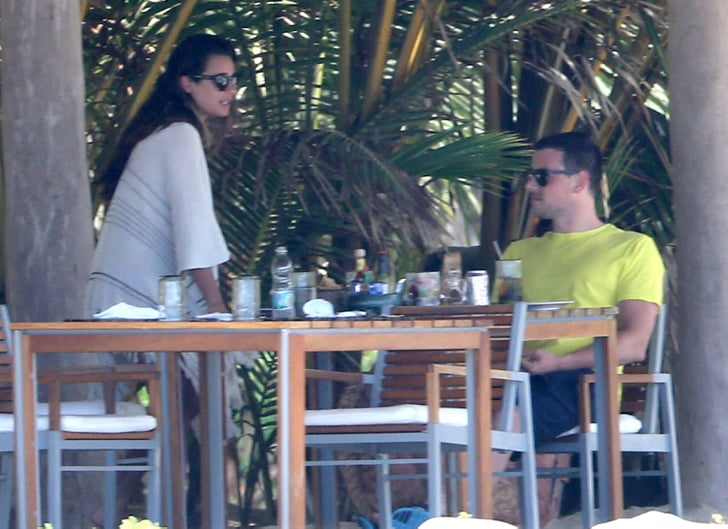 Lea Michele and her boyfriend, Cory Monteith, relaxed during a getaway to Mexico.