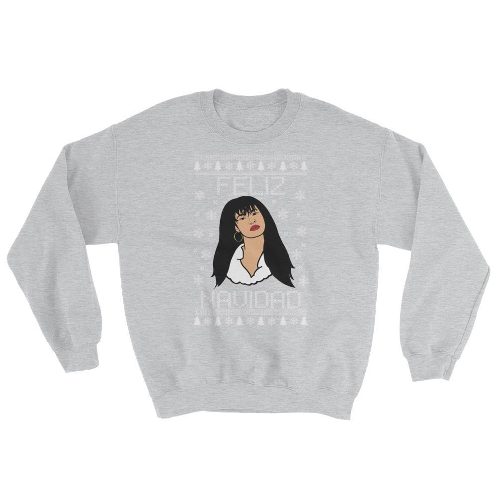 Selena Quintanilla Christmas Sweater Popsugar Celebrity