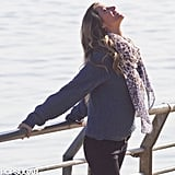 Gisele Bundchen caught some rays in Brazil.