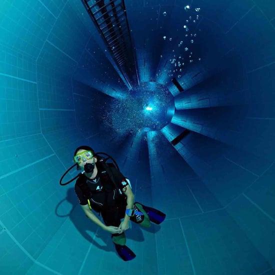 أين توجد أعمق بركة سباحة في العالم؟