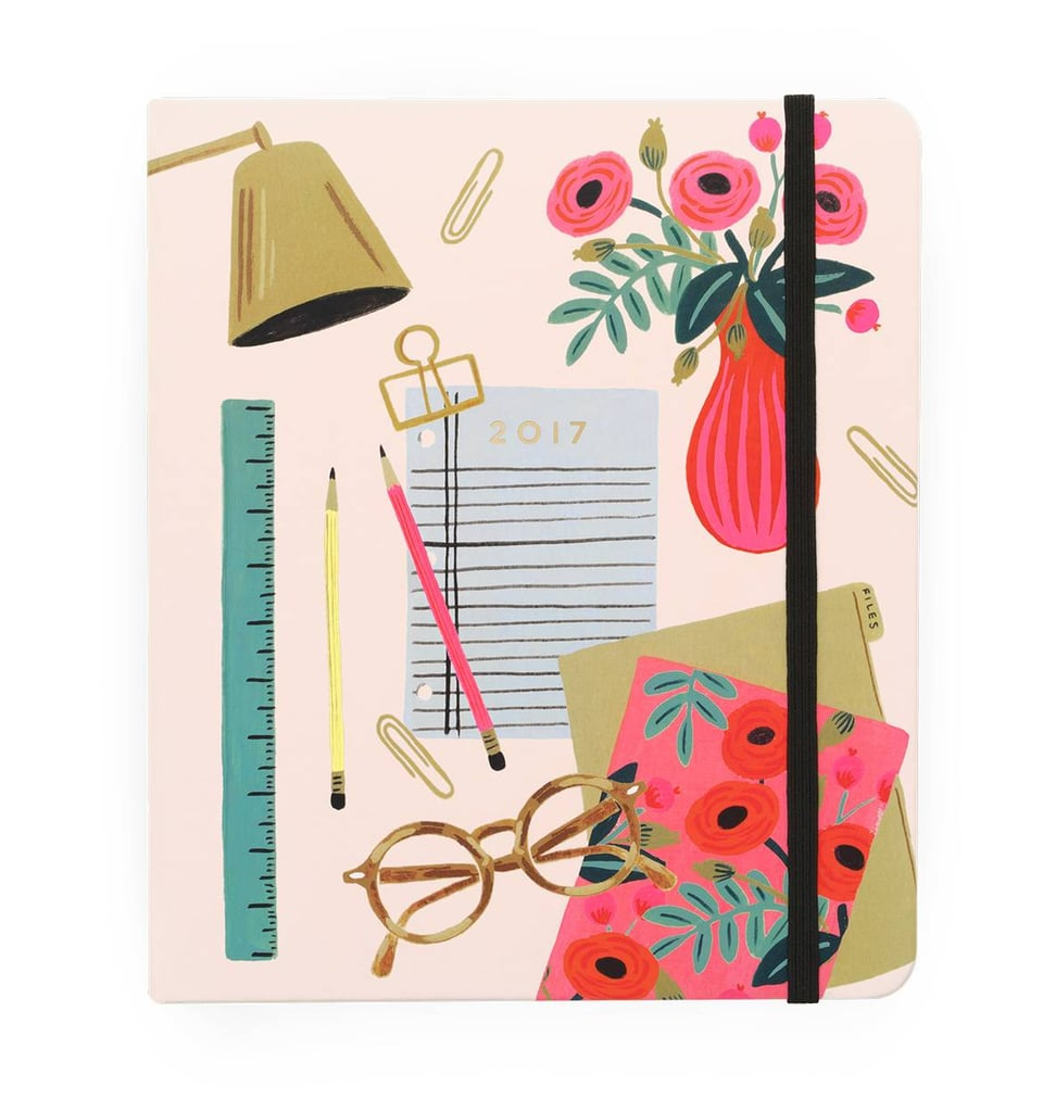 Rifle Paper Co. Everyday 17-Month Desktop Planner ($34)