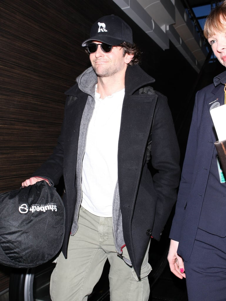 Bradley Cooper flew out of LA.