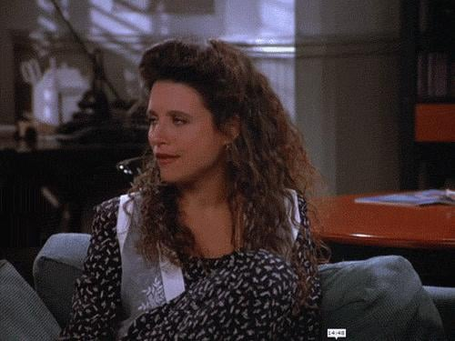 When Elaine Is Being a Hilarious Jerk