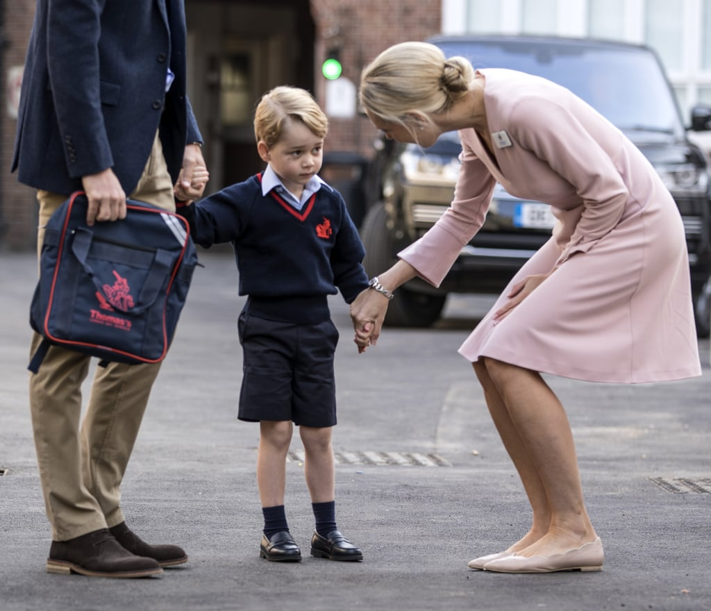 Prince George's Teacher Wearing LK Bennett Dress