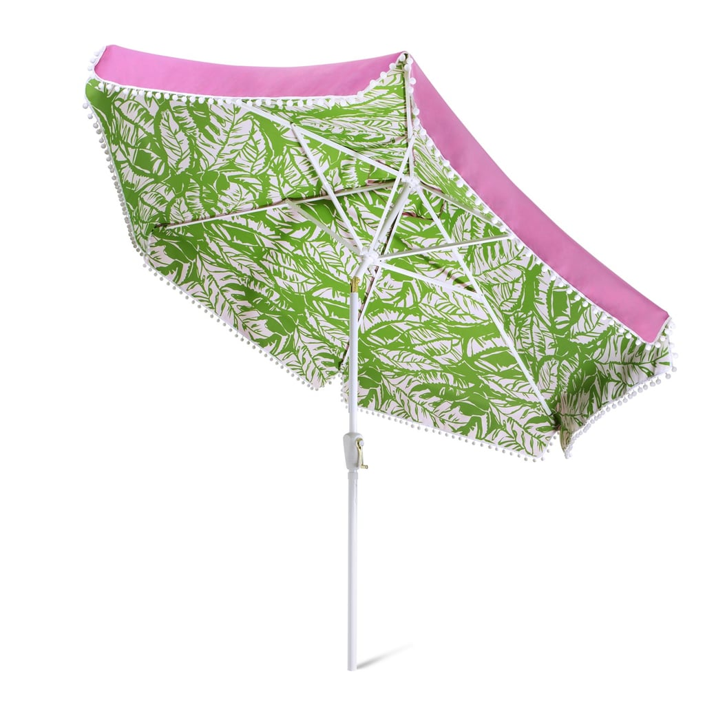 9u0027 Patio Umbrella ($100) | The Must Have Lilly Pulitzer For Target Home  Decor | POPSUGAR Home Photo 6