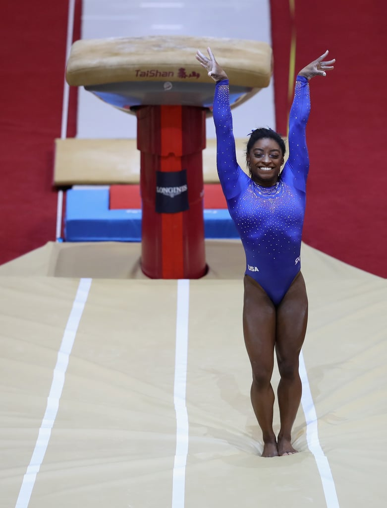 How Many World Championship Medals Has Simone Biles Won on Vault?