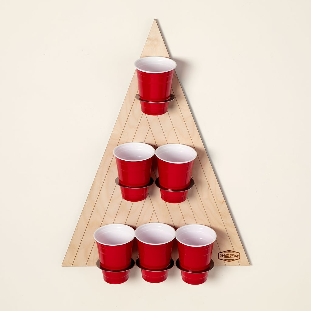 For the Beer Pong Champion: Wall Pong