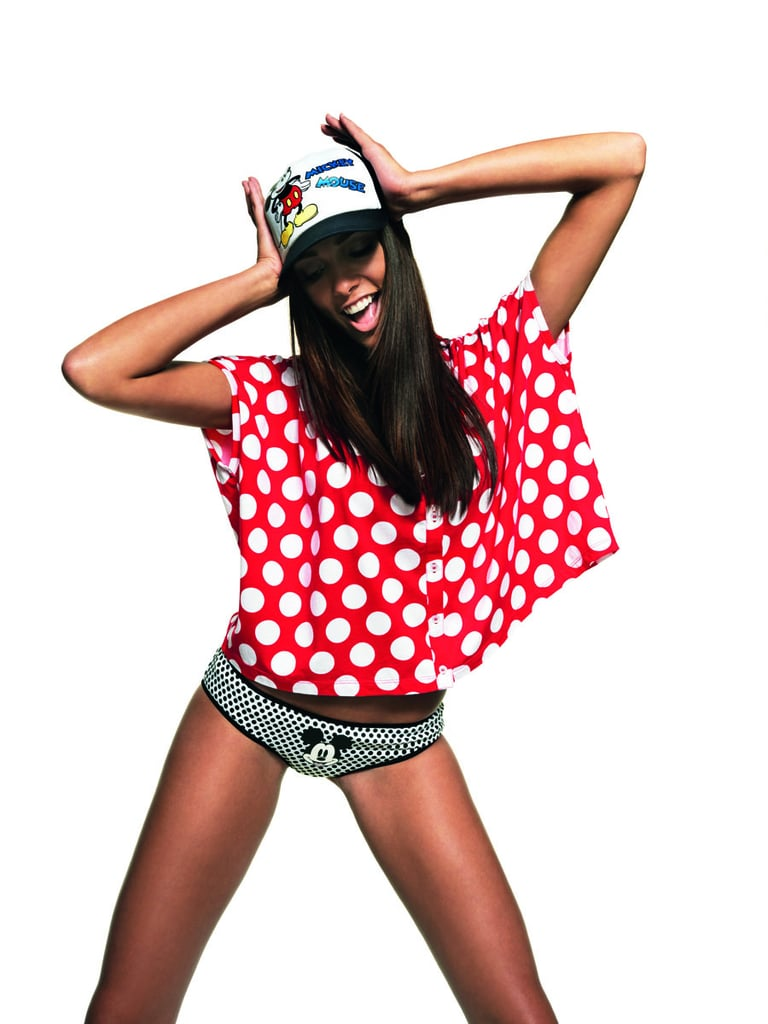 Spot Wide Tee and Mickey Underwear Set