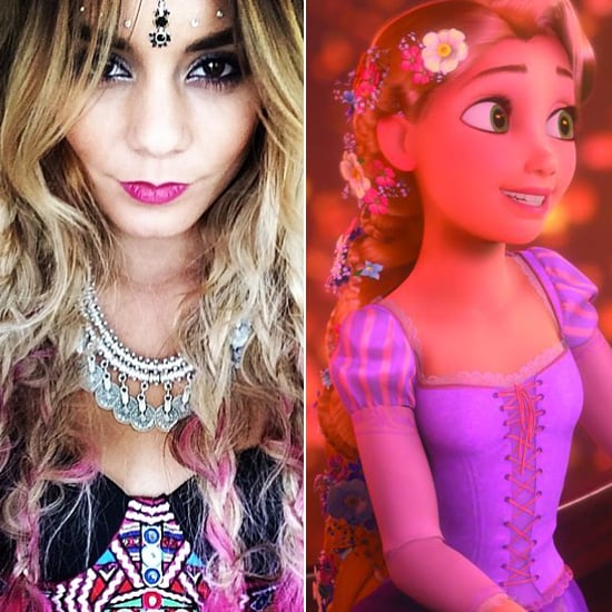 Does Vanessa Hudgens Look Like Rapunzel From Tangled?