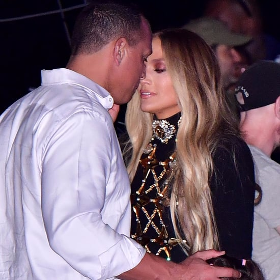 Jennifer Lopez and Alex Rodriguez 4th of July 2017