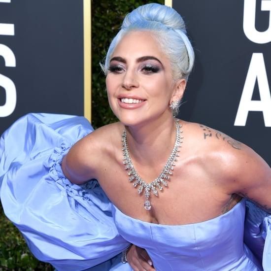 Lady Gaga Honouring Judy Garland at the 2019 Golden Globes