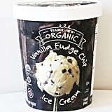 Organic Vanilla Fudge Chip Ice Cream ($3)