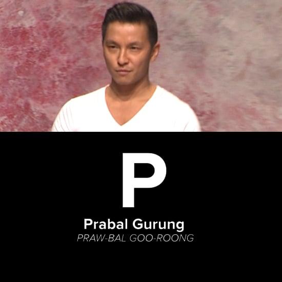 Fashion Designer Pronunciations | Video
