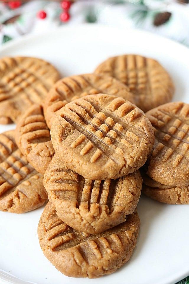 Peanut Butter Vegan Cookies