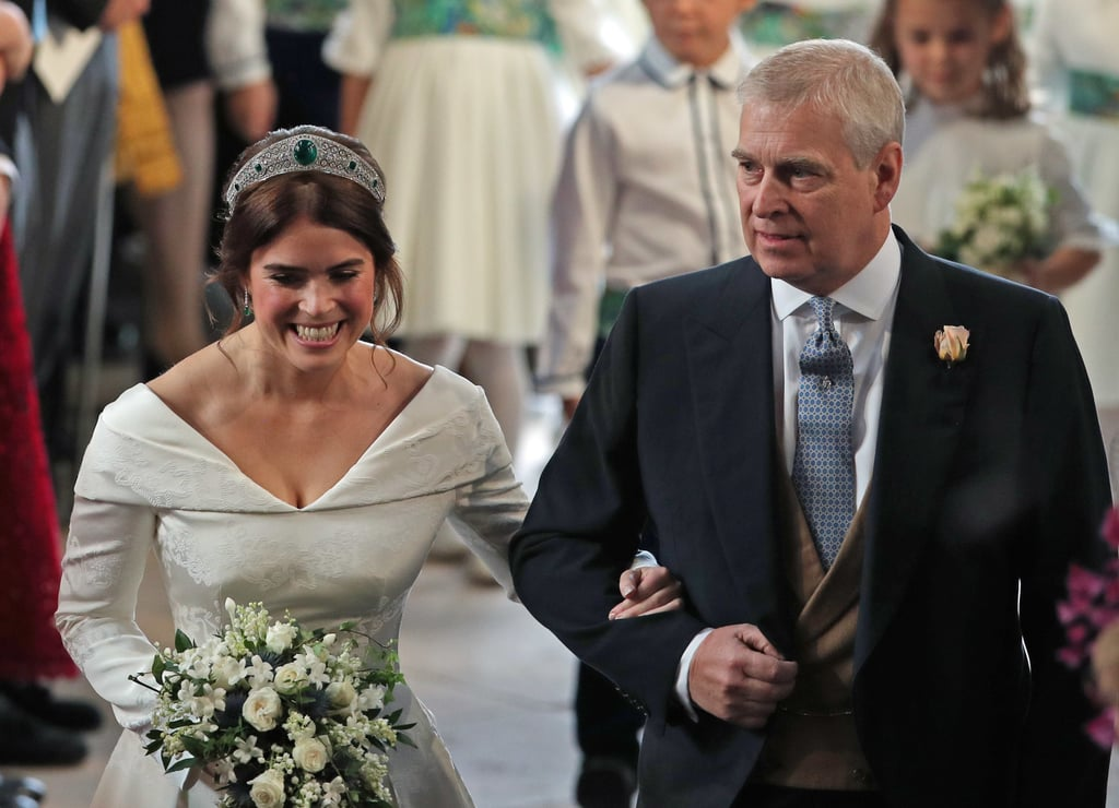 Princess Eugenie With Her Dad Prince Andrew in 2018