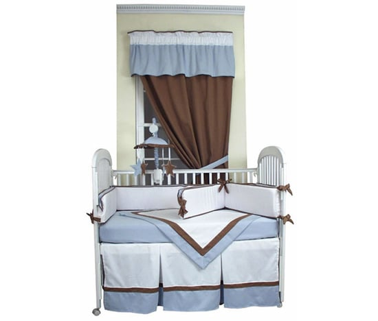 Classic Blue Crib Bedding