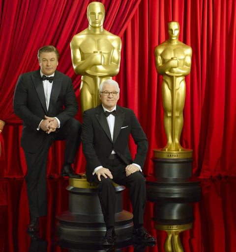 Five Reasons to Watch This Year's Oscar Show Include Alec Baldwin and Steve Martin as Hosts