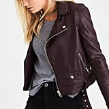 American Eagle Faux-Leather Moto Jacket