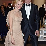 Naomi Watts and Liev Schreiber looked cute together at The Reluctant Fundamentalist premiere.
