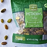 Pistachios, Shelled and Roasted With Sea Salt ($5)