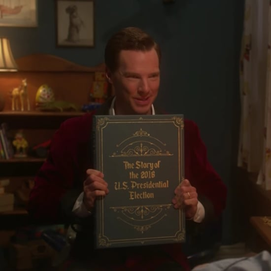 Benedict Cumberbatch Reads Election Story to James Corden