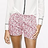 For the flirty girl, these J.Crew floral shorts ($73) are the ones to nab. Sport them with anything, but we especially love them played off a chambray shirt.