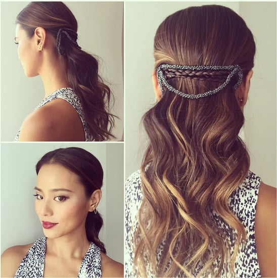 Half-Up Hair Braid Idea