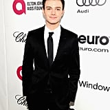 Chris Colfer went for a classic look.