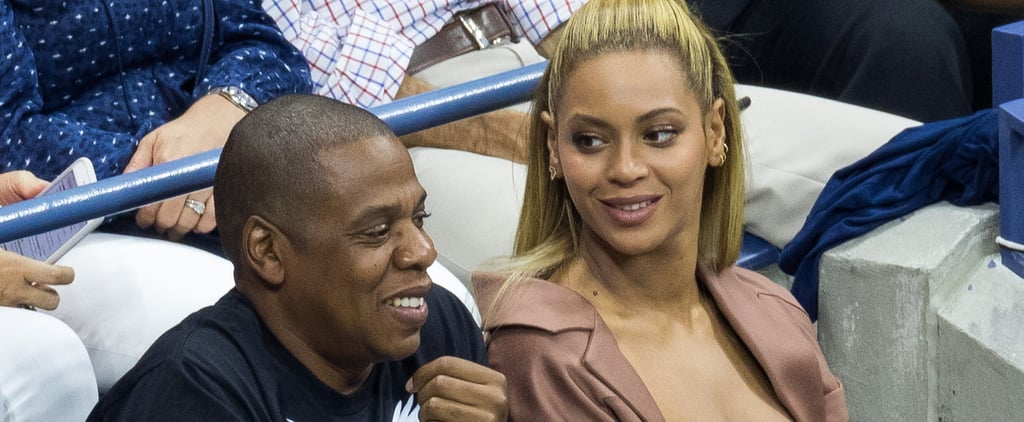 Beyoncé and Jay Z Cheer on Serena Williams at the US Open!