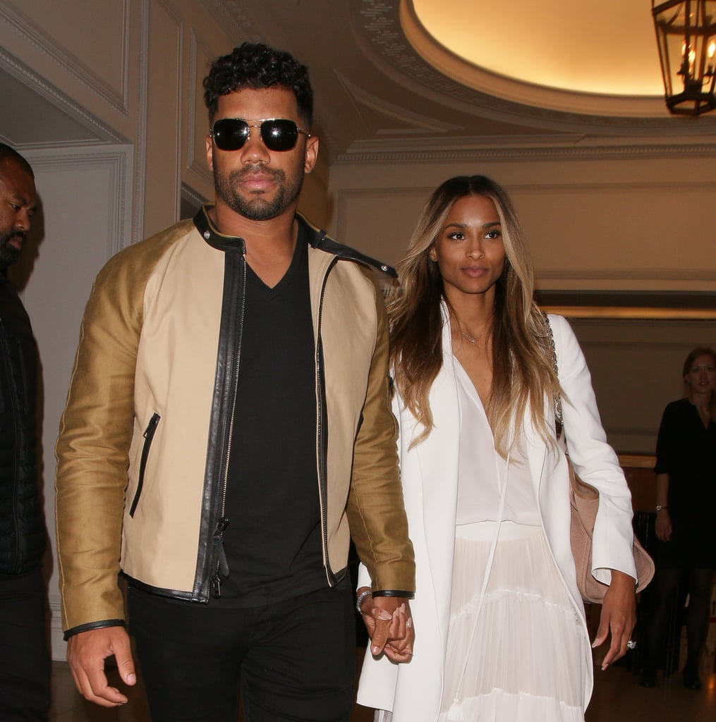 Russell Wilson Wedding: Ciara And Russell Wilson Out In London Photos July 2016