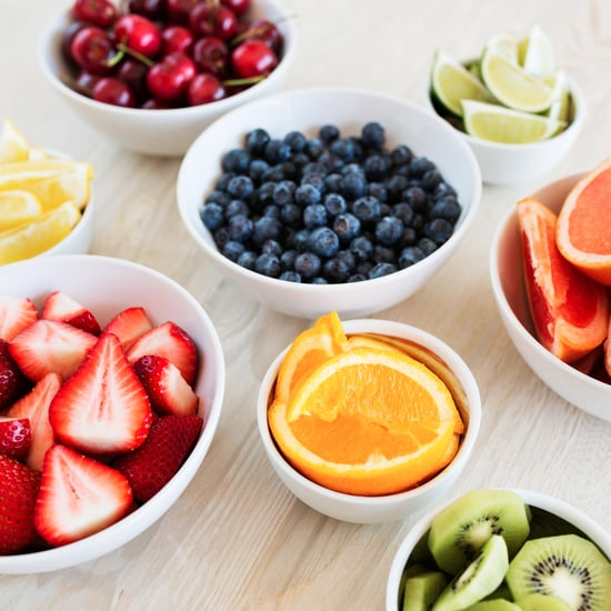 Colour Chart of Best Antioxidant-Rich Foods