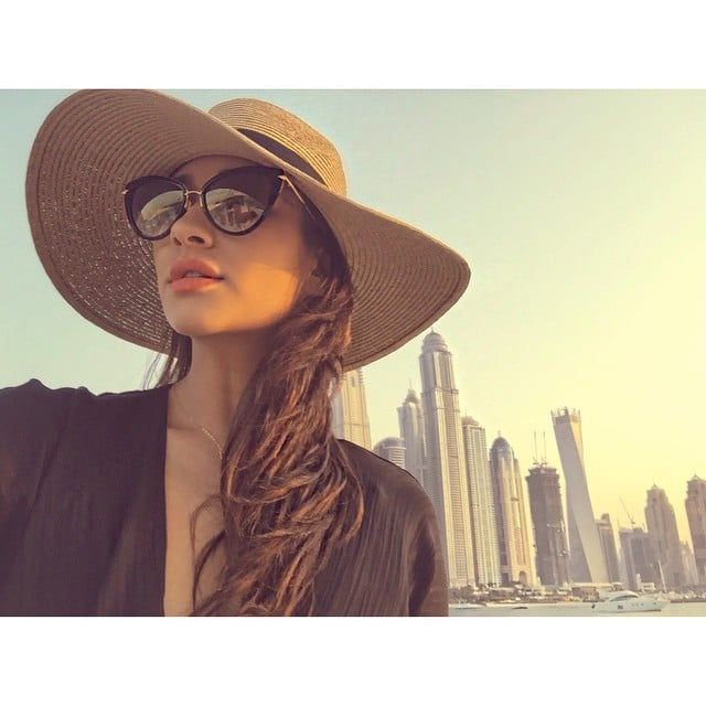 When She Traveled to Dubai