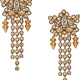 Mawi Rose Gold Plated Crystal Drop Earrings