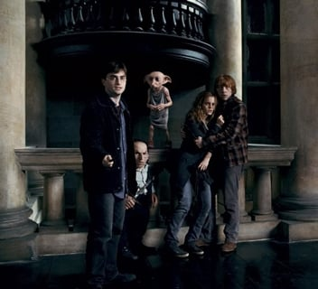 New Harry Potter and the Deathly Hallows: Part 1 Pics