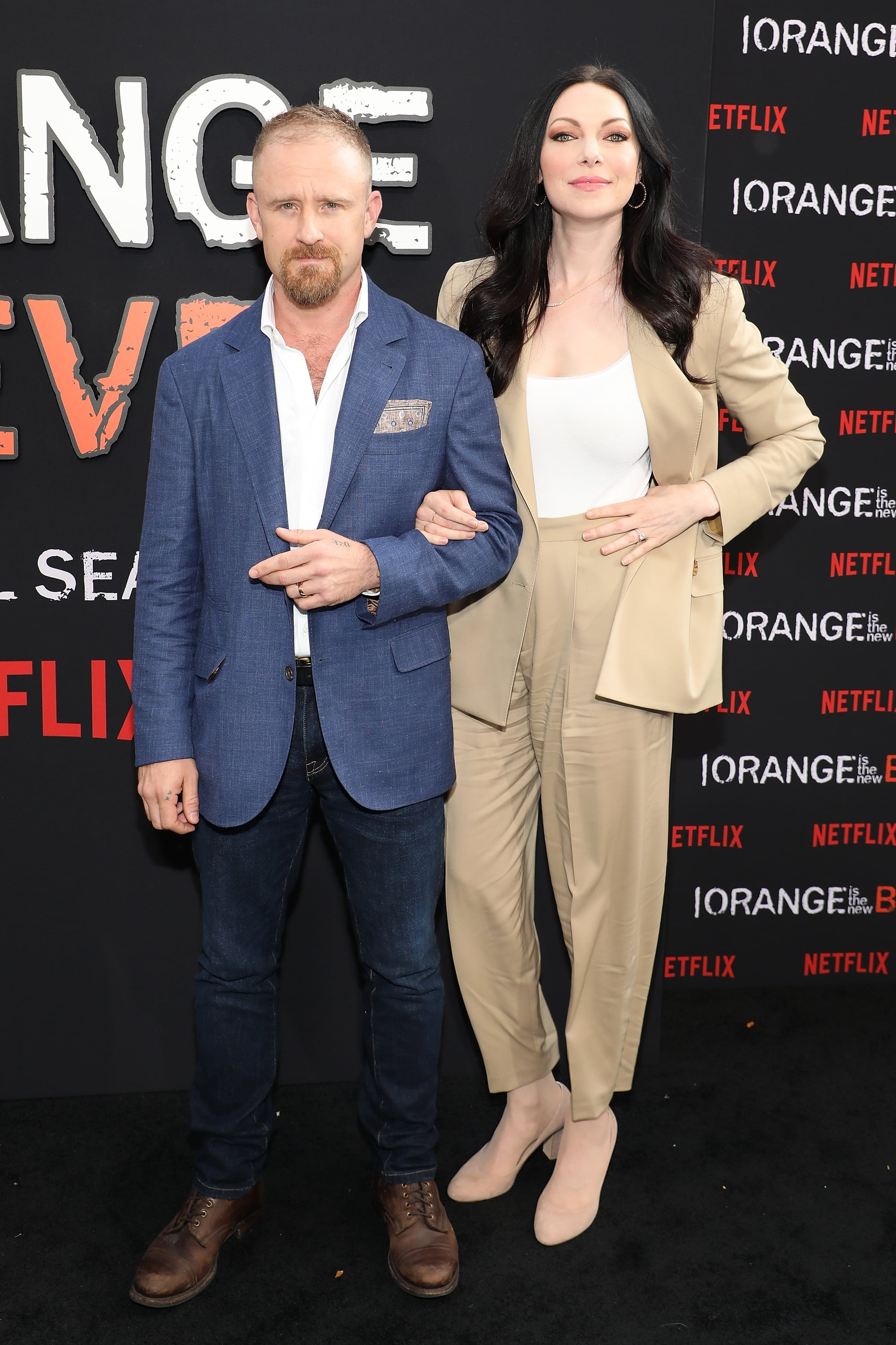 Laura Prepon And Ben Foster All The Celebrities Who Are Expecting New Babies Popsugar Celebrity Photo 23