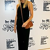 Gwyneth Paltrow in black on Fashion's Night Out.