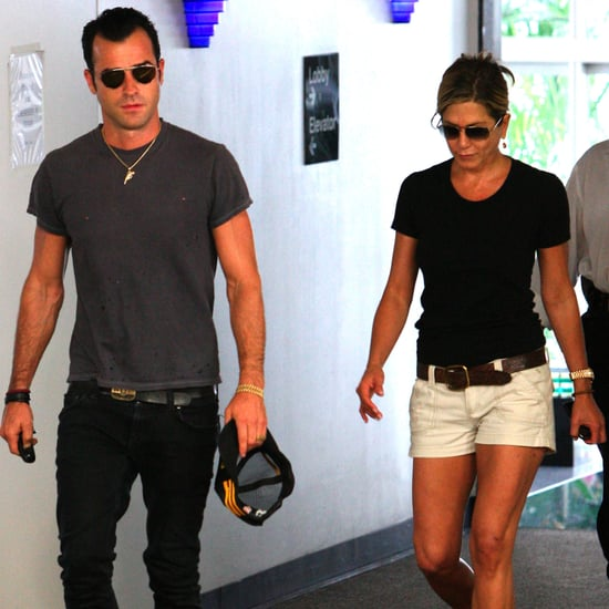 Jennifer Aniston and Justin Theroux Pictures Together in LA