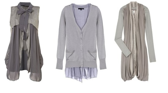 Shopping: Cool Chiffon Cardigans