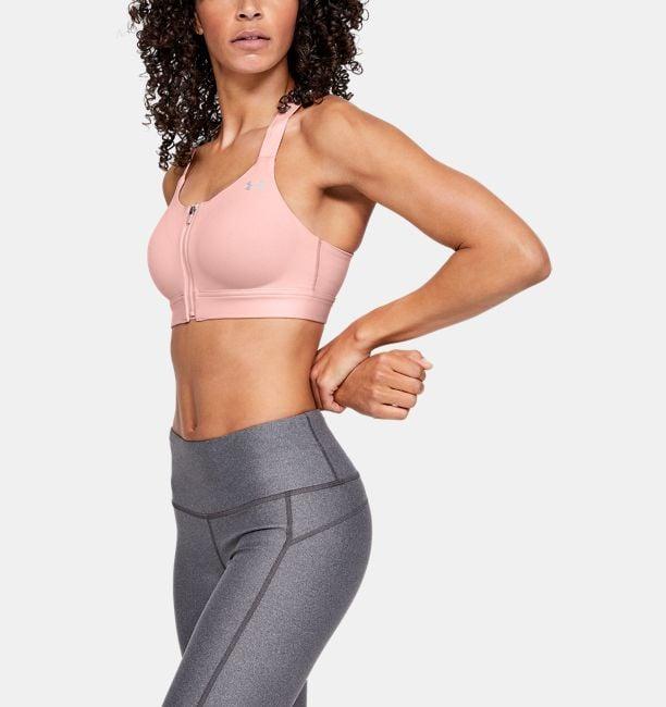 Women's Armour Eclipse High — Zip Sports Bra